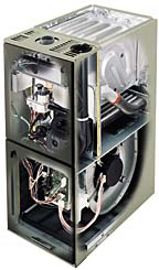 What is a single stage or two stage furnace united for Trane xl90 blower motor