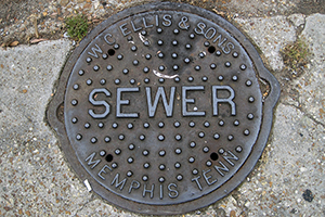 San Diego sewer services geo-tagged
